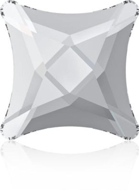Swarovski 2494 10.5mm Starlet Flatback Crystal Silver Night