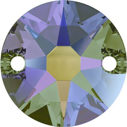 Swarovski 3288 12mm Xirius Sew On Stones Crystal Paradise Shine