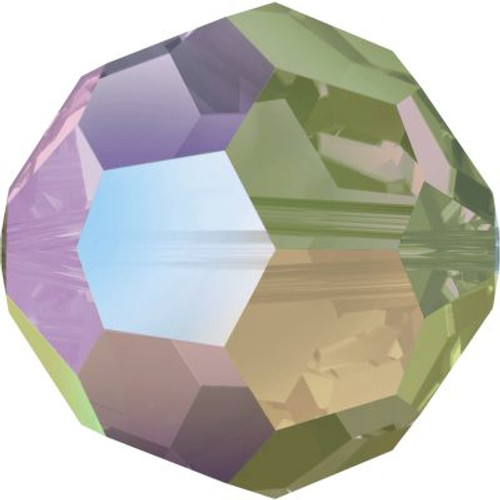 Swarovski 5000 8mm Round Beads Crystal Paradise Shine