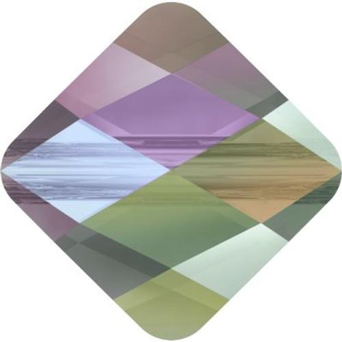 Swarovski 5054 8mm Mini Rhombus Beads Crystal Paradise Shine