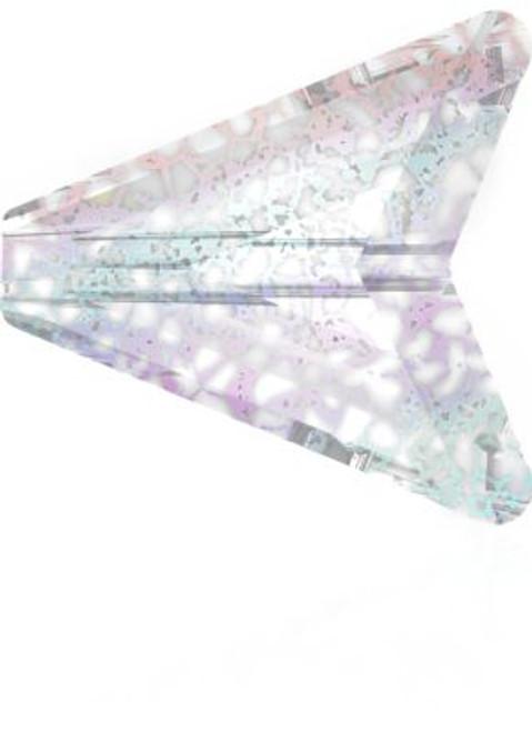 Swarovski 5748 16mm Arrow Beads Crystal White Patina
