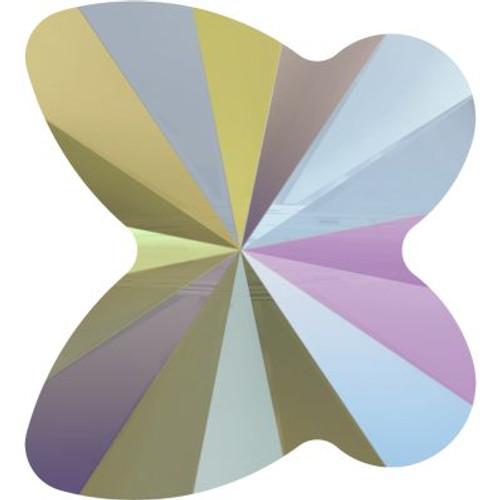 Swarovski 5754 10mm Butterfly Beads Crystal Paradise Shine