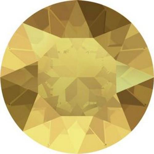 Swarovski 1088 18pp Xirius Round Stones Crystal Metallic Sunshine
