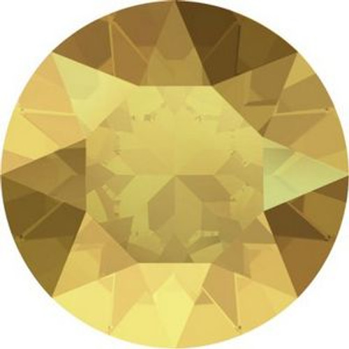 Swarovski 1088 32pp Xirius Round Stones Crystal Metallic Sunshine