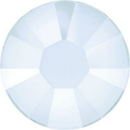 Swarovski 2038 10ss Xilion Flatback Crystal Powder Blue Hot Fix