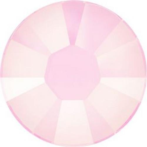 Swarovski 2038 10ss Xilion Flatback Crystal Powder Rose Hot Fix