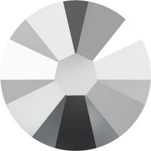 Swarovski 2058 5ss Xilion Flatback Crystal Light Chrome