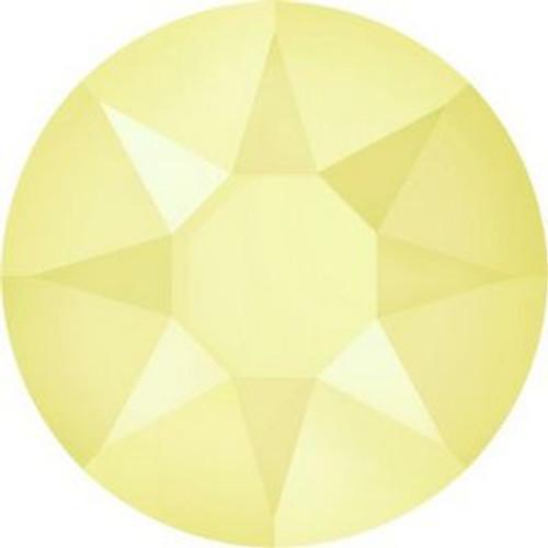 Swarovski 2078 16ss Xilion Flatback Crystal Powder Yellow Hot Fix