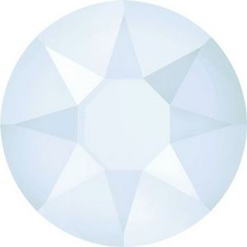 Swarovski 2078 34ss Xilion Flatback Crystal Powder Blue Hot Fix