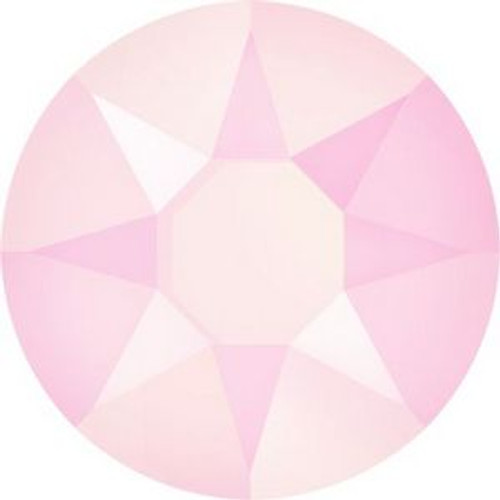Swarovski 2078 34ss Xilion Flatback Crystal Powder Rose Hot Fix