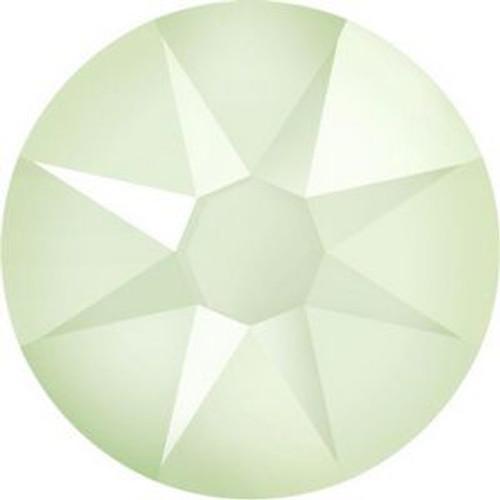 Swarovski 2088 12ss Xilion Flatback Crystal Powder Green
