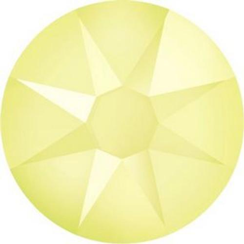 Swarovski 2088 20ss Xilion Flatback Crystal Powder Yellow