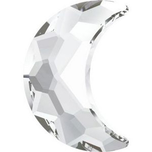 Swarovski 2813 14mm Moon Flatback Crystal Hot Fix