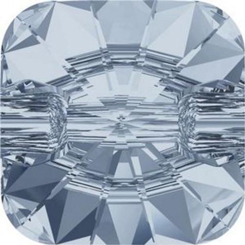 Swarovski 3009 10mm Rivoli Square Buttons Crystal Blue Shade