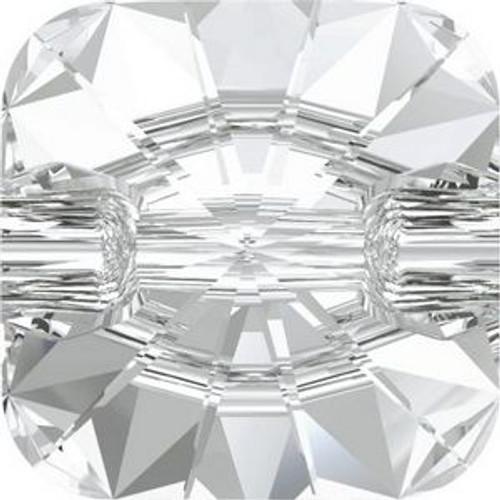 Swarovski 3009 12mm Rivoli Square Buttons Crystal