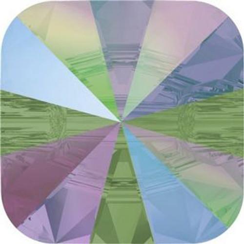 Swarovski 3009 14mm Rivoli Square Buttons Crystal Paradise Shine