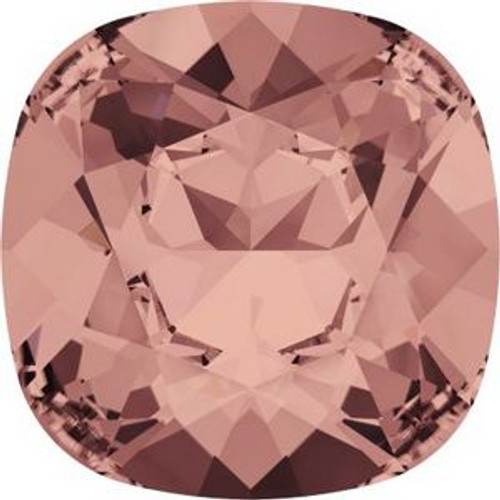 Swarovski 4470 10mm Cushion Fancy Stones Blush Rose