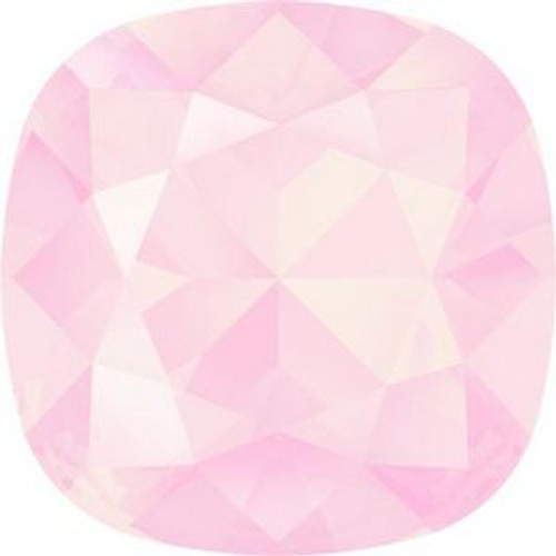 Swarovski 4470 10mm Cushion Fancy Stones Crystal Powder Rose