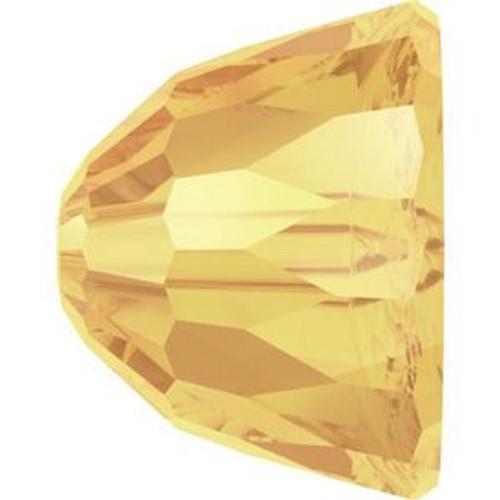 Swarovski 5542 8mm Dome Bead Small Beads Crystal Metallic Sunshine