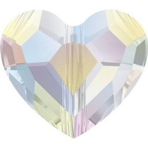 Swarovski 5741 12mm Love Beads Crystal AB