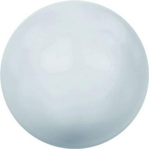 Swarovski 5811 12mm Large Hole Pearls Pastel Blue Pearl