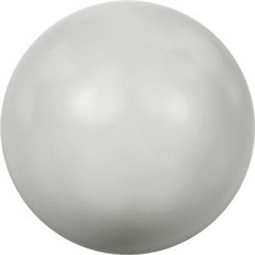 Swarovski 5817 8mm Half-Dome Pearls Pastel Grey Pearl