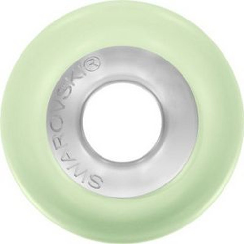 Swarovski 5890 14mm BeCharmed Pearls Pastel Green Pearl Steel
