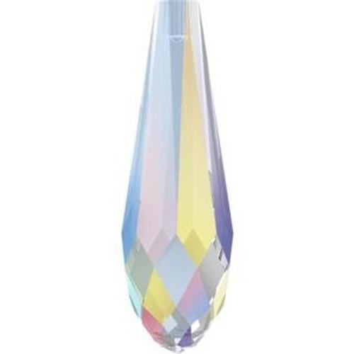 Swarovski 6530 30mm Pure Drop (half hole) Pendants Crystal AB