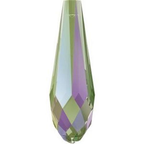 Swarovski 6530 30mm Pure Drop (half hole) Pendants Crystal Paradise Shine