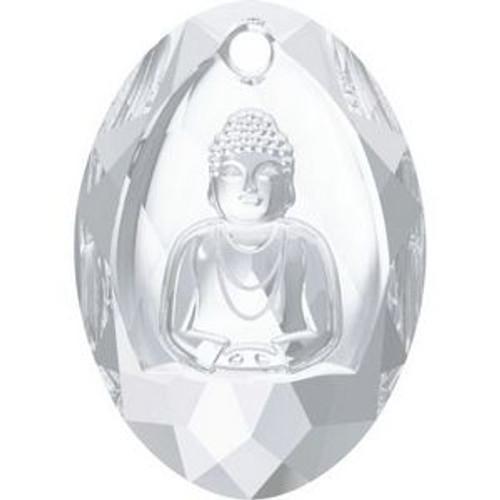 Swarovski 6871 28mm Buddha Pendants Crystal