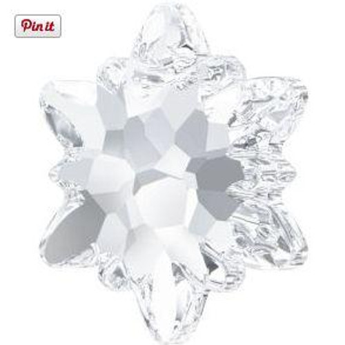 Swarovski 6748 18mm Edelweiss Pendants Crystal
