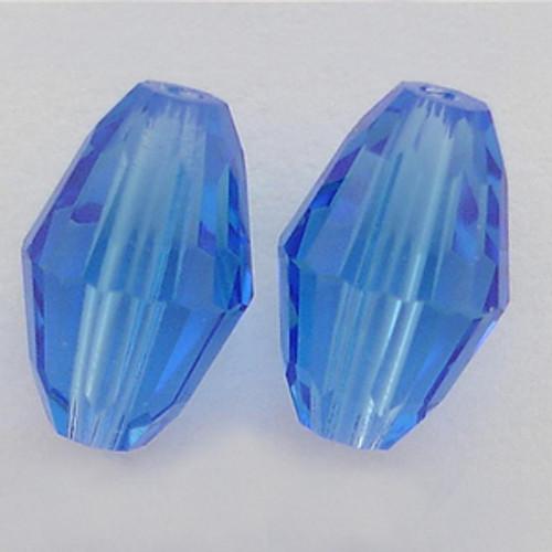 Swarovski 5200 7mm Oval Beads Sapphire