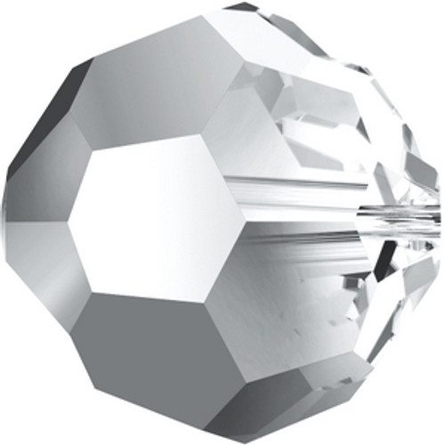 Swarovski 5000 4mm Round Beads Crystal Light Chrome