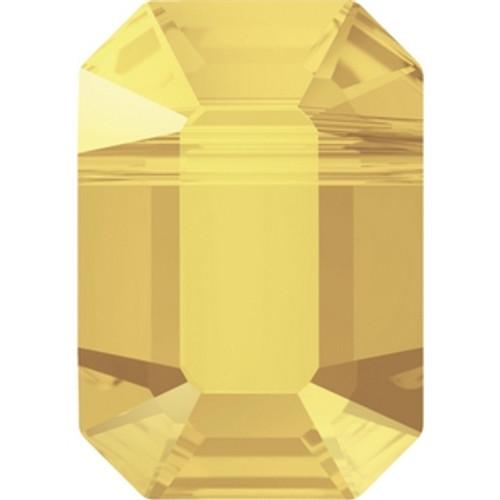 Swarovski 5514 10mm Pendulum Beads Crystal Metallic Sunshine