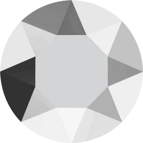 Swarovski 1088 21pp Xirius Round Stones Crystal Light Chrome