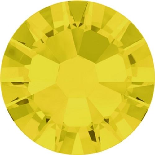 Swarovski 2058 7ss(~2.25mm) Xilion Flatback Yellow Opal (1440 pieces )
