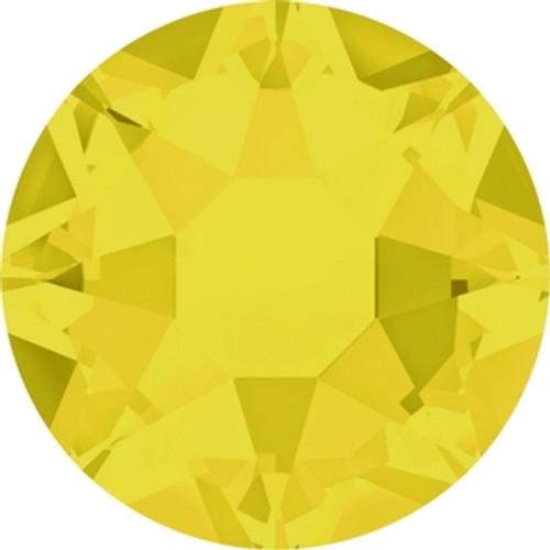 Swarovski 2078 12ss(~3.1mm) Xilion Flatback Yellow Opal Hot Fix (1440 pieces )