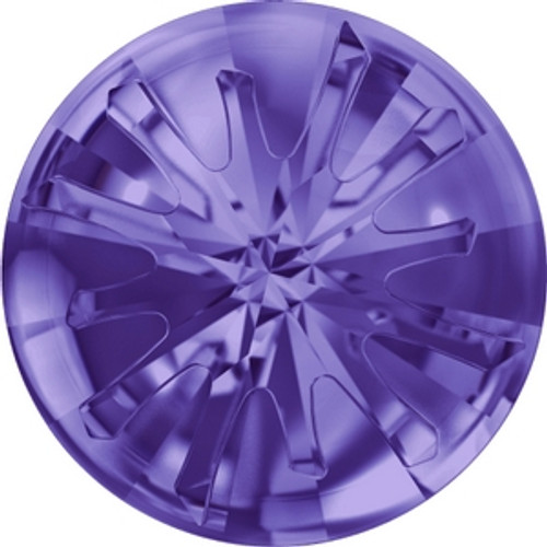 Swarovski 1695 10mm Tanzanite Sea Urchin Round Stone . Tanzanite is a stunning purple color and is a blue purple tone that mixes well with violet and Provence Lavender.  . Swarovski Crystal is the finest quality precision-cut crystal in the world. Fashionable and sophisticated styles are infused with rich colors and lavish coatings. SWAROVSKI ELEMENTS are essential in creating captivating jewelry designs of exceptional radiance and quality.