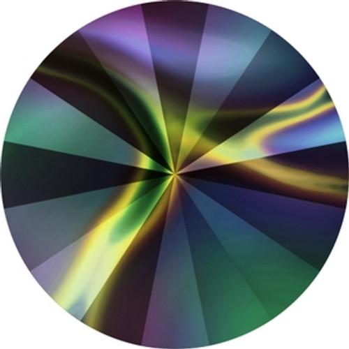 Swarovski 1122 12mm Crystal Rainbow Dark Xilion Round Stones