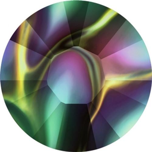 Swarovski 2038 8ss Crystal Rainbow Dark Hot Fix Xilion Flatbacks