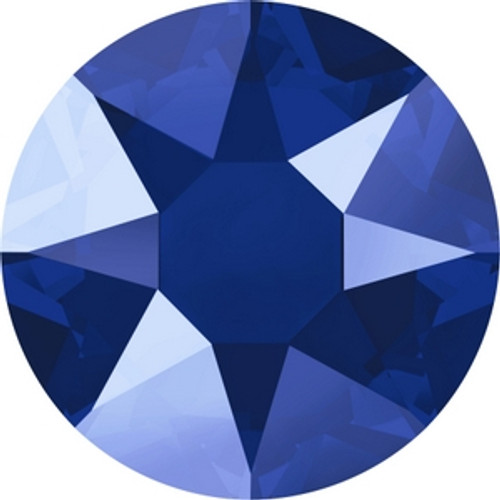 Swarovski 2078 16ss Crystal Royal Blue Lacquer Hot Fix Xirius Flatbacks