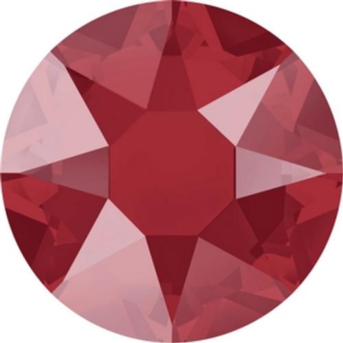 Swarovski 2078 16ss Crystal Royal Red Lacquer Hot Fix Xirius Flatbacks