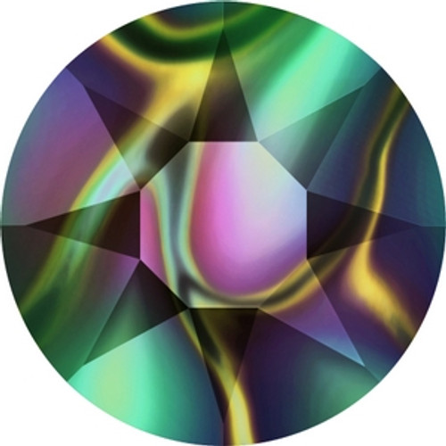 Swarovski 2078 20ss Crystal Rainbow Dark Hot Fix Xirius Flatbacks