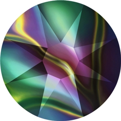 Swarovski 2088 12ss Crystal Rainbow Dark Xirius Flatbacks