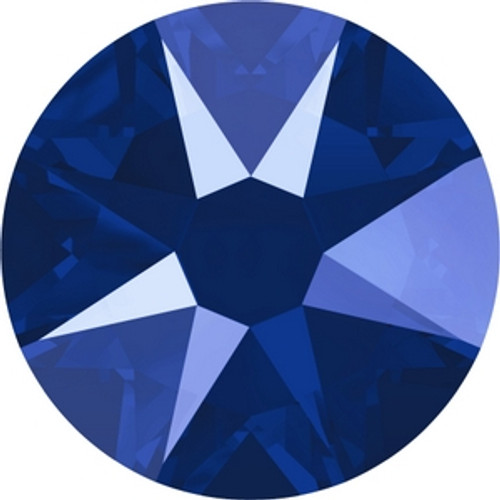 Swarovski 2088 20ss Crystal Royal Blue Lacquer Xirius Flatbacks