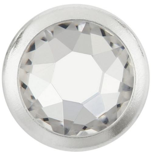 Swarovski 2078/I 20ss White Opal Light Chromez Hot Fix Rimmed Xirius Flatbacks