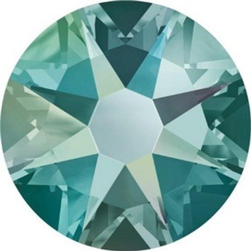 Swarovski Crystal Flatback Black Diamond Shimmer Effect