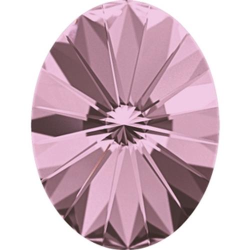 Swarovski 4122 8mm Crystal Antique Pink Oval Rivoli Fancy Stones