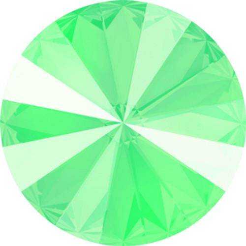 Swarovski style # 1122 Xilion Round Stones Crystal Mint Green