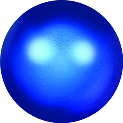 Swarovski style # 5818 Half-Drilled Pearls Crystal Iridescent Dark Blue Pearl